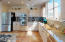 Dream Kitchen with plenty of cabinets to store your finest cookware.