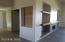 Double door leading to office/den
