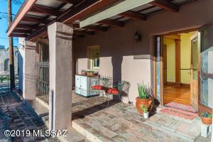 Front doors to livingroom and kitchen