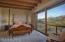 Spacious master suite with gorgeous mountain views