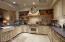Brazillian Slate counters, Farm Sink, Wolfe Range and custom cabinetry