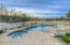 Cool sparkling pool and spa for all year round enjoyment