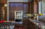 Beautiful modern kitchen,convection microwave and oven
