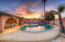 Pool Area with Sunset Views