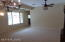 Ceiling fans in ALL rooms. Bedrooms, 2,3 & 4 along with second bath hallway is off of this area.
