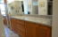 Master bath with new granite counters