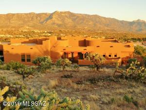 What a view!!!! 3,082sf one-story 3BR, 3BA Santa Fe design home