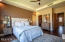 Split Bedroom plan give Master Suite privacy.