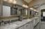 New granite countertops, lighting, fixtures and tile