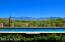 Unobstructed view due east toward the Santa Catalina Mtn's Romero Canyon (deep V).