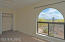 Master bedroom has view all the way to Mt Wrightson