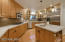 Amazing , cabinet and counter space. Gas cook top, Quartz countertops.