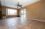 Family room with access to back patio