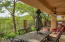 Private covered patio