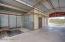 Hay storage, Tack room and Workshop in barn