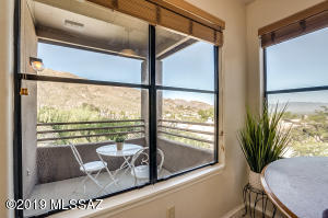 Interior views from this adorable second floor condominium at Canyon View at Ventana