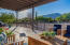 North Facing Front Patio w/ Sunset Views