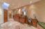 Stone floors & Recessed lighting