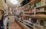 Spacious walk in pantry