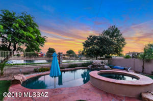 You can't go wrong with view of your pool and Sahuarita Lake!!