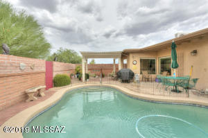 Pool is heated with solar heaters so swimming is a year round enjoyment!