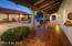 Hacienda Style Rear Porches