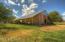 Adobe Barn And Metal Roof