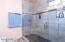 Remodeled step-in shower