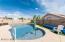 Pebble tec salt water pool