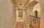 Hallway leads to Kitchen, Pantry, and Laundry Room