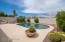 Pool and spa are gas-heated, self-cleaning.