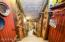 Back stairway entrance to underground wine cellar