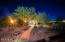 Twilight view of extra room/casita