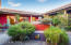 Interior courtyard with water feature