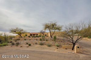 Front of home. Private cul de sac lot on .8 acres.