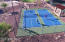 Pickle Ball courts, tennis count, basketball court, beach volleyball