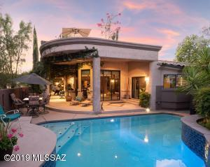 Luxuriously Appointed Custom Contemporary Gem Bordering the 15th Fairway at OMNI Tucson National Golf Course