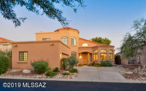 Beautiful home in La Paloma gated community.