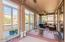 This fully enclosed AZ room has working windows this room is very usable!