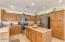 The wonderful kitchen of a Cimarron . workspace and lots of Cabinets