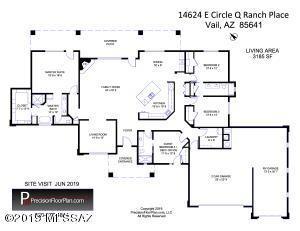 14624 E CIRCLE Q RANCH Place, Vail, AZ 85641