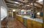 Kitchen w/mesquite cabinets