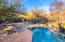 LUSHLY VEGITATED POOLSIDE OFFERS COMPLETE PRIVACY, SHADE & PLEASURE