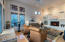 FAMILY ROOM OFF KITCHEN W/FIREPLACE & HARDWOOD FLOORS