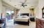 Master Bedroom w/slider to back yard
