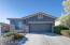 Straight on View of home w/3-Car Tandem Garage