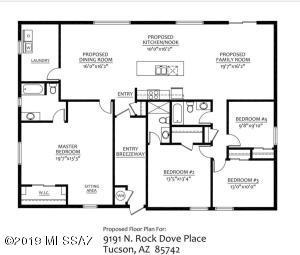 9191 N Rock Dove Place, Tucson, AZ 85742