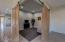 Barn Door entry to Office/Den