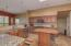 Lot's of space for gatherings and food preparation.