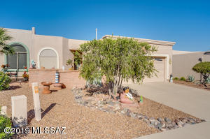 Easy care desert landscaping